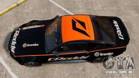 Ford Mustang GT 2013 NFS Edition para GTA 4 vista direita