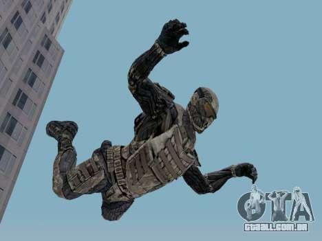 Nano-terno coreano de Crysis para GTA San Andreas terceira tela