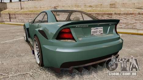 GTA V Benefactor Feltzer para GTA 4 traseira esquerda vista