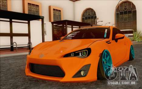 Toyota GT86 Lowstance para GTA San Andreas