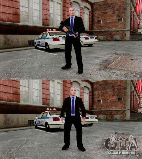 A retirada de armas para GTA 4