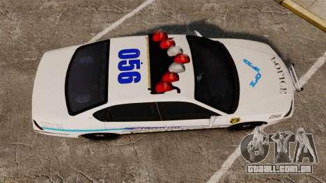Chevrolet Impala 2003 LCPD para GTA 4 vista direita