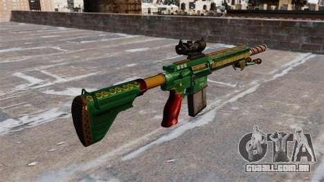 HK417 rifle para GTA 4 segundo screenshot