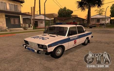 DPS VAZ 2106 para GTA San Andreas