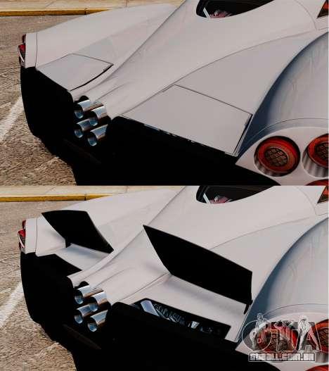 Pagani Huyara [EPM] para GTA 4 motor