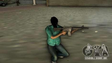 Carabina M4 para GTA Vice City segunda tela