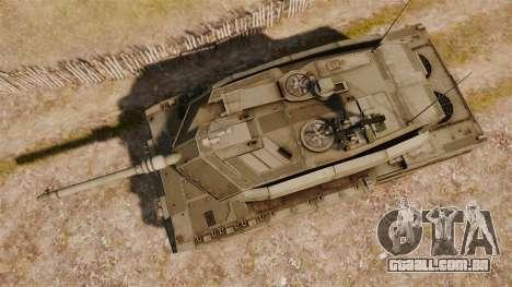 Leopard 2A7 para GTA 4 vista direita