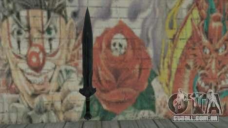 A espada imperial para GTA San Andreas