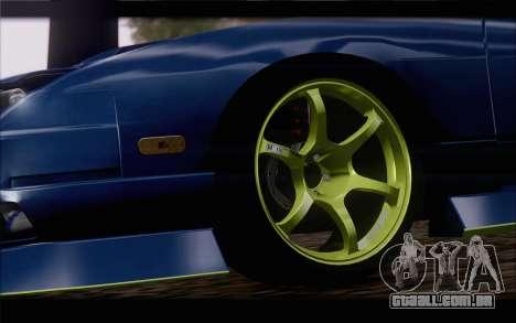 Nissan 240sx drift para GTA San Andreas traseira esquerda vista