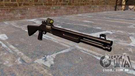 Tática espingarda Fabarm SDASS forças Pro para GTA 4