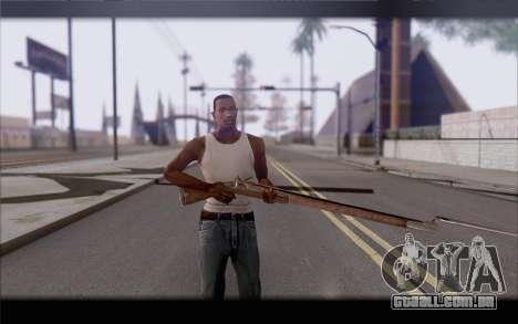 Mosquete para GTA San Andreas terceira tela