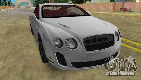Bentley Continental Extremesports para GTA Vice City