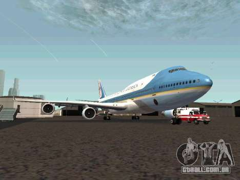 Boeing-747-400 Airforce one para GTA San Andreas