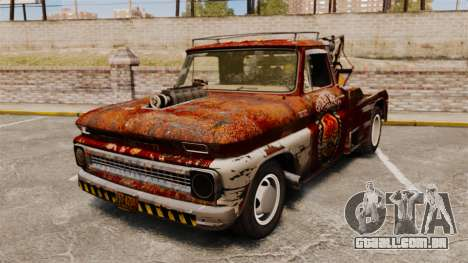 Chevrolet Tow truck rusty Rat rod para GTA 4