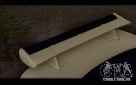 Nissan Skyline R34 Z-Tune para GTA San Andreas vista direita