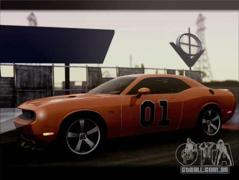 Dodge Challenger SRT8 2012 HEMI para GTA San Andreas