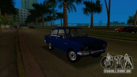 AZLK 2140 para GTA Vice City vista traseira