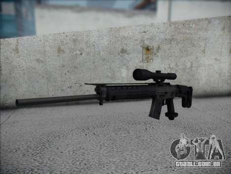 Rifle Sniper HD para GTA San Andreas