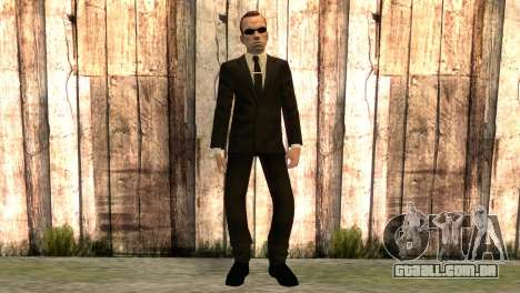 Smith de matrix filme para GTA San Andreas