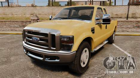 Ford F-350 Super Duty 2011 para GTA 4