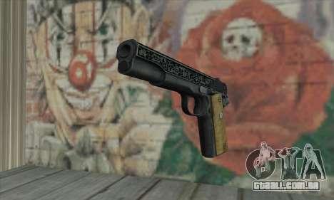 Colt 45 fora The Darkness 2 para GTA San Andreas