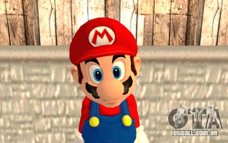 Mario para GTA San Andreas terceira tela