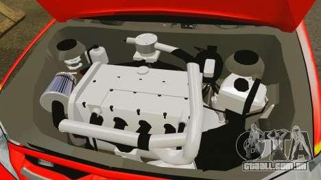 Toyota Hilux British Rapid Fire Cover [ELS] para GTA 4 vista interior