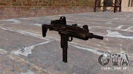 Pistola-metralhadora UZI Tactical para GTA 4