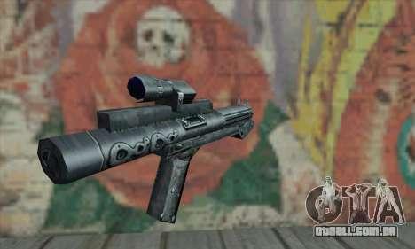 Rifle de Star Wars para GTA San Andreas segunda tela