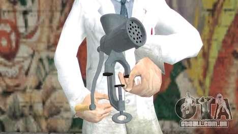 Moedor de carne para GTA San Andreas terceira tela