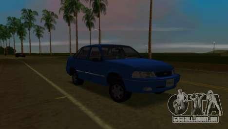 Daewoo Cielo para GTA Vice City vista direita