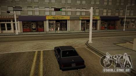 GTA HD Mod 3.0 para GTA San Andreas segunda tela
