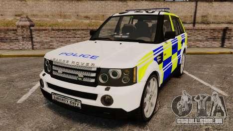 Range Rover Sport Metropolitan Police [ELS] para GTA 4