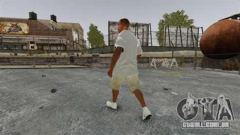 Franklin Clinton v3 para GTA 4 terceira tela