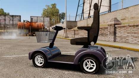 Funny Electro Scooter para GTA 4 esquerda vista
