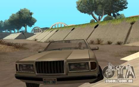 Admiral Cabrio para GTA San Andreas vista direita