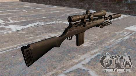 O rifle semi-automático M14 para GTA 4 segundo screenshot