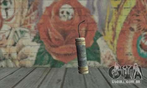 Uma banana de dinamite do Metro 2033 para GTA San Andreas
