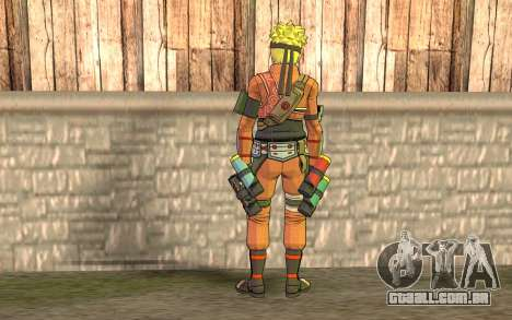 Naruto Rajdžinu para GTA San Andreas segunda tela