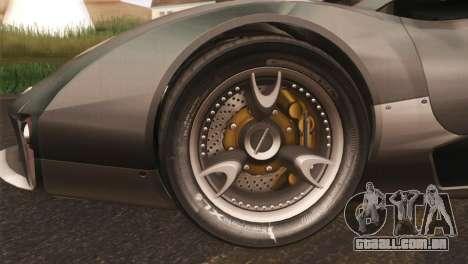 SuperMotoXL CONXERTO v2.0 para GTA San Andreas esquerda vista
