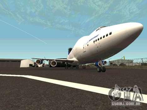 Boeing-747 Dream Lifter para GTA San Andreas