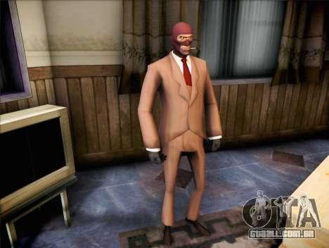Espião de Team Fortress 2 para GTA San Andreas segunda tela