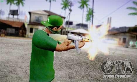 Lamar Davis GTA V para GTA San Andreas segunda tela