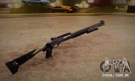 A espingarda do Left 4 Dead 2 para GTA San Andreas segunda tela