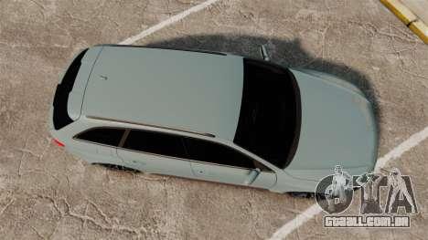 Audi RS4 Avant para GTA 4 vista direita