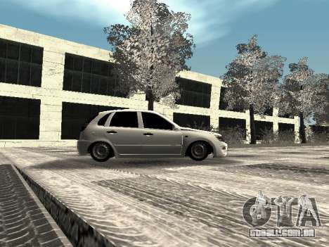 Vaz 2190-1119 para vista lateral GTA San Andreas