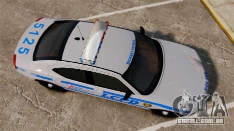 Dodge Charger LCPD [ELS] para GTA 4 vista direita