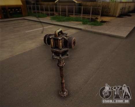 Mutante de morcego de Fallout 3 para GTA San Andreas segunda tela