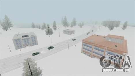 Localização do país das maravilhas do Ártico para GTA 4 sétima tela
