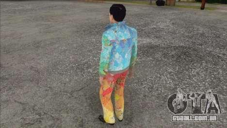 Vito Skalleta sob a forma de Sochi 2014 para GTA San Andreas terceira tela
